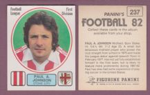 Stoke City Paul Johnson